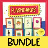 Spanish Flashcards Wordwall Growing BUNDLE