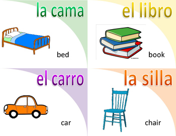 Spanish Flashcards-everyday words
