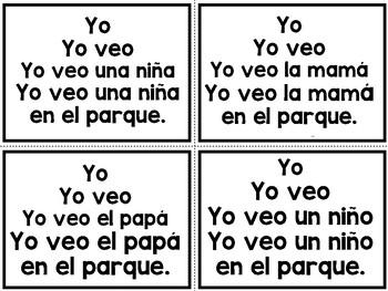 Spanish Fluency Cards TASK CARDS