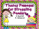 RTI Spanish Fluency Passages for Struggling Readers