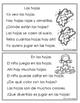 Spanish Fluency Practice.Tiras de oraciones para el otoño