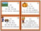 Spanish Fluency Practice  Pyramid Sentences  Fall