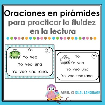Spanish Fluency Pyramids: Simple Sentences
