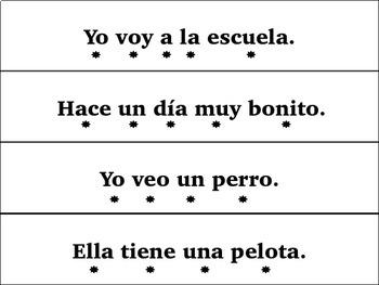 Spanish Fluency Strips {The Bundle}