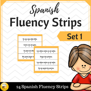 Spanish Fluency Strips (SET 1)