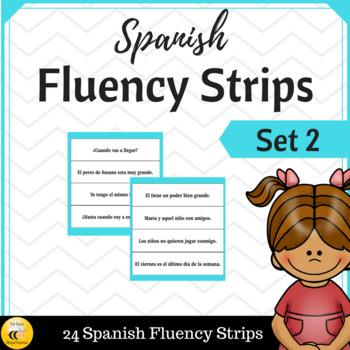 Spanish Fluency Strips (SET 2)