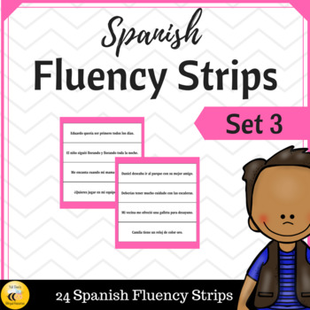 Spanish Fluency Strips (SET 3)