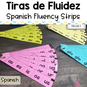 Spanish Fluency Strips | Level 1