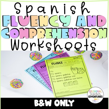 Spanish Fluency and Comprehension Set 1