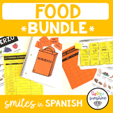Spanish Food: Activities and Interactive Notebooks
