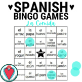 Spanish Food - Spanish Bingo Game - La Comida