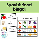 Spanish Food Bingo!