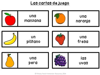 Spanish Food Bingo!