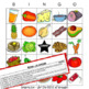 Spanish Food Bundle Crossword, Word Search, Bingo and Spea