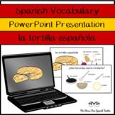 Spanish Food / Comida: La Tortilla Española Vocabulary Pow