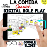 Spanish Food Digital Vocabulary: LA COMIDA