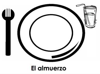 Spanish Food Graphic Organizer