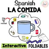 Spanish Distance Learning LA COMIDA Food Interactive Notebook