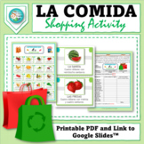 Spanish Food - La Comida: Fun Shopping Activity to Practice Food & Numbers!