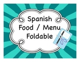 Spanish Food / Menu Fold-It