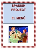 Spanish Food Menu project