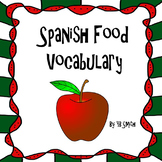 Spanish Food PICTURE Notes Powerpoint