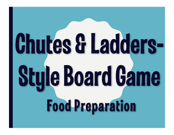 Spanish Food Preparation Chutes and Ladders-Style Game