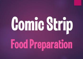 Spanish Food Preparation Comic Strip