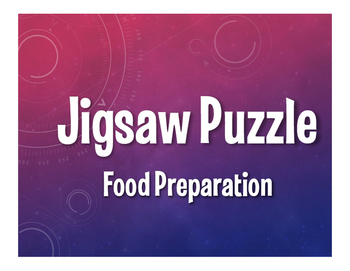 Spanish Food Preparation Jigsaw Puzzle