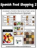 Spanish Food Shopping 2 Vocabulary Posters & Flashcards wi