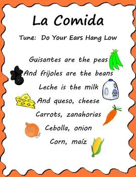 Spanish Food Song