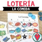 Spanish Food - Spanish Bingo Game - Loteria