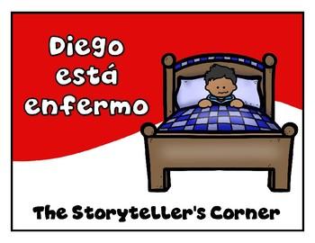 Spanish Food Story - Diego está enfermo