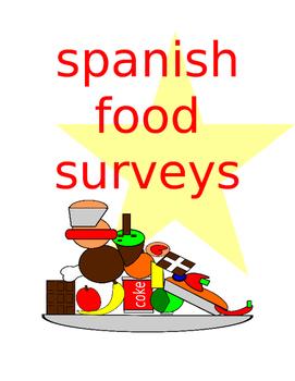 Spanish Food Survey