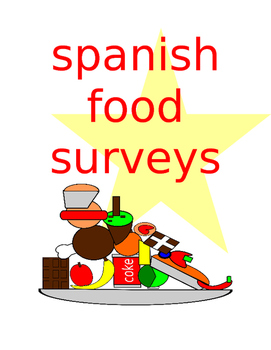 Spanish Food Survey