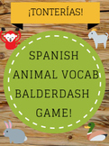 Spanish Animal Vocabulary: Balderdash Game (¡Tonterías!)