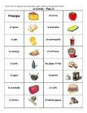 Spanish Food Vocabulary Dominoes