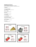 Spanish Food Vocabulary Grocery Store Game