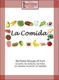 Spanish Food Vocabulary - La Comida
