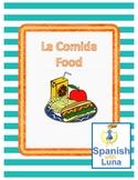Spanish Food Vocabulary: La Comida + Gustar (to like)