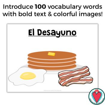 Spanish Food Vocabulary PowerPoint La Comida