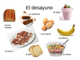 Spanish Food Vocabulary PowerPoint/COMER and COMPARTIR
