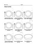 Spanish Food Vocabulary (Spanish I) Reading/Drawing Activity
