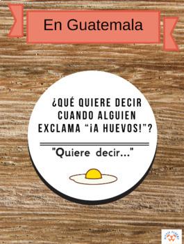 Spanish Food Vocabulary: Balderdash Game (¡Tonterías!)