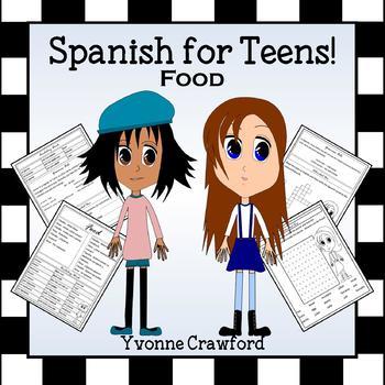 Spanish Food Words -  La Comida en Español