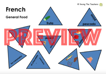 Spanish Food and Drink Tarsia Puzzles