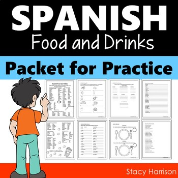 Spanish Food and Drinks Packet for Practice