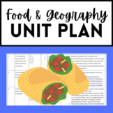 Spanish Food and Spanish-speaking Countries Unit Plan