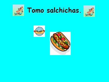 Spanish Teaching Resources. Food Types Powerpoint Presentation