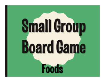 Spanish Foods Board Game
